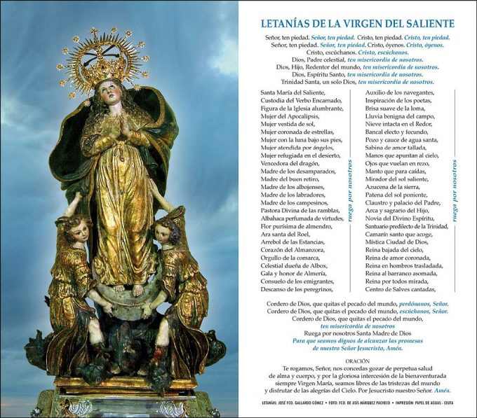 Virgen del Saliente