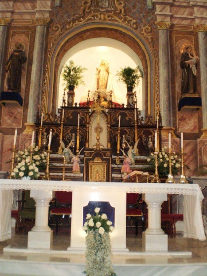 Altar Mayor Basílica de Oria