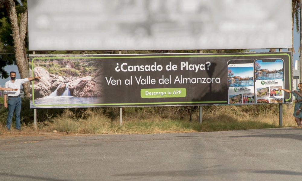 El Valle del Almanzora se promociona en la costa almeriense.