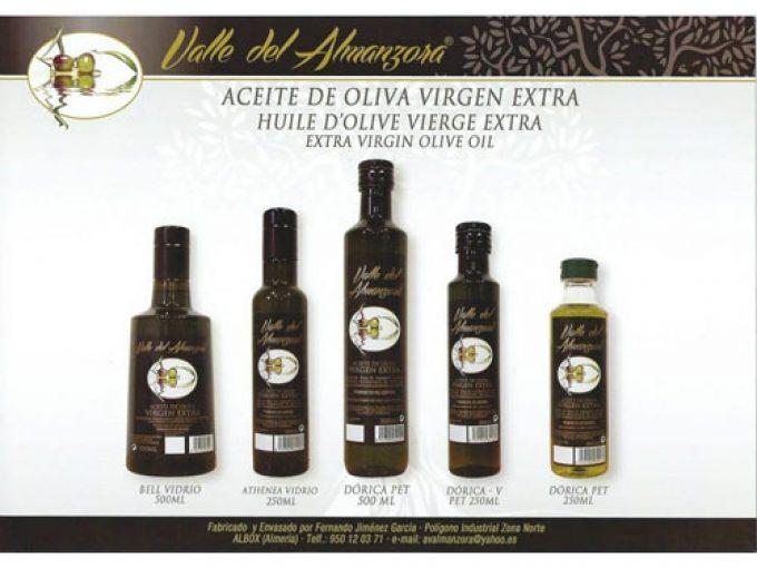Aceite Valle del Almanzora