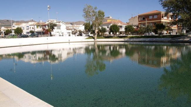 Reservoir of Cela