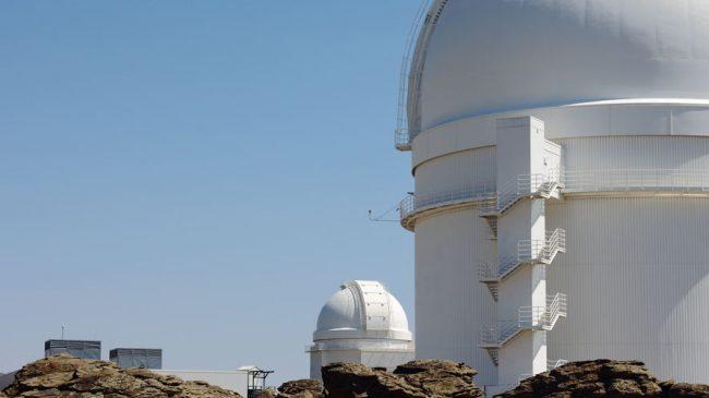 Visitas al Centro Astronómico Hispano-Alemán