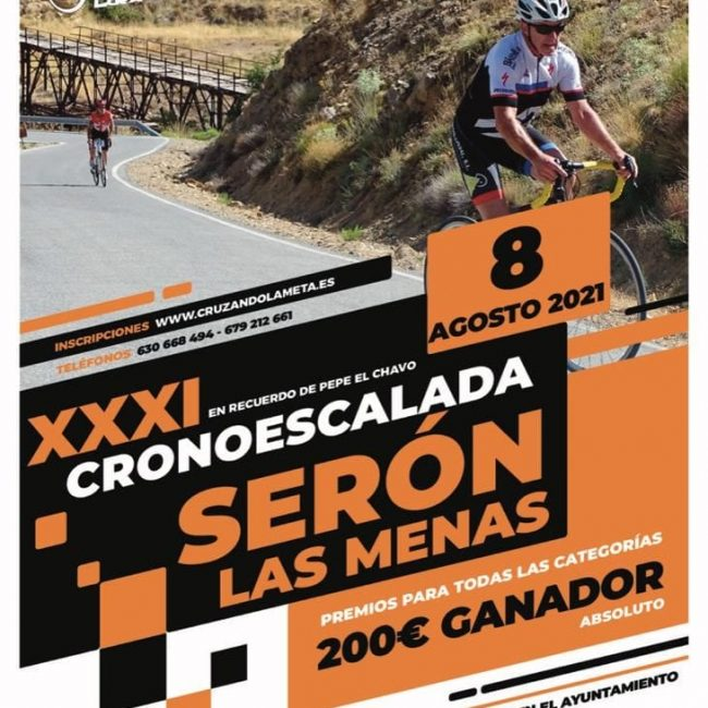 XXXI Cronoescalada Serón – Las Menas