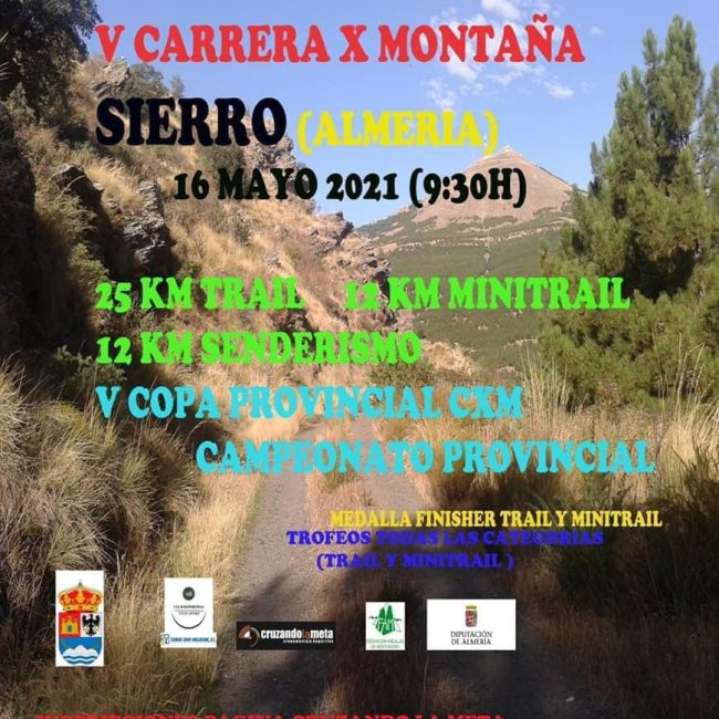 Trail, Minitrail y Senderismo el 16 mayo en Sierro