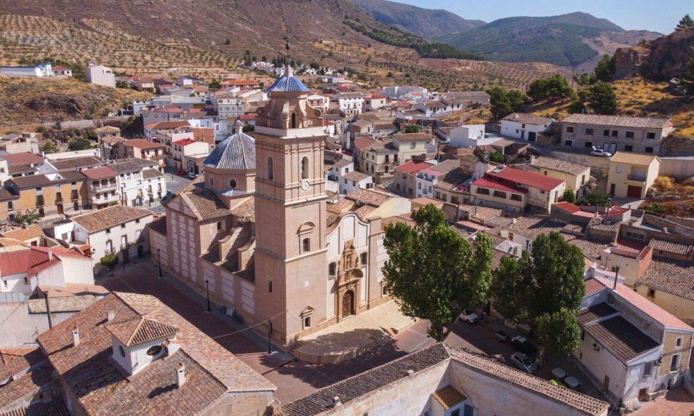 Las 30 maravillas del Almanzora a vista de dron