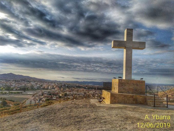 Sacred Heart Cross and San Antonio Viewpoint