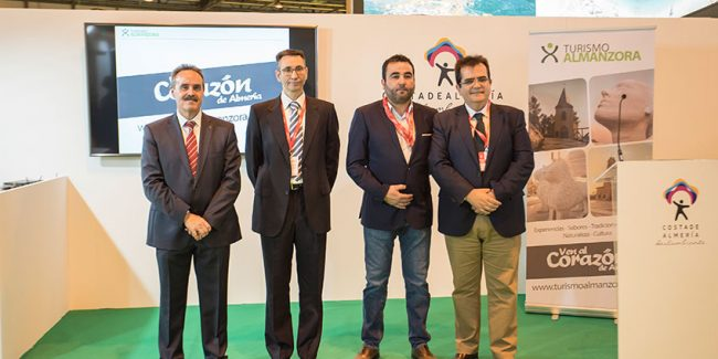The entrepreneurs of the Almanzora present in Fitur 2018 a website with its tourism resources