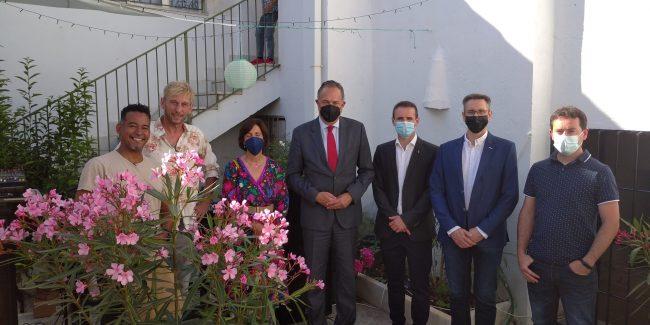 Purchena inaugura un hostal recuperando un edificio señorial del siglo XIX