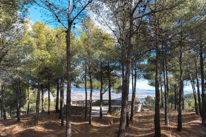 Vistas del Mirador al Valle del Almanzora