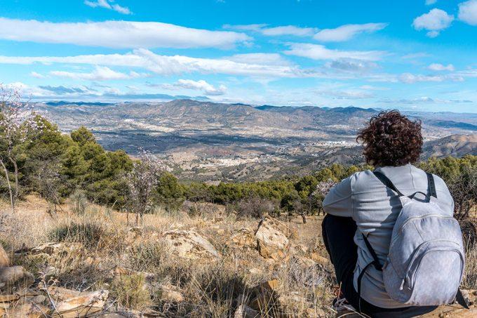 Vistas del Valle del Almanzora
