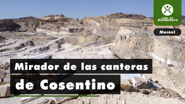 Mirador de la Cantera de Cosentino
