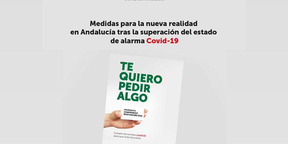 Medidas para la nueva realidad de Andalucia tras el estado de alarma COVID-19