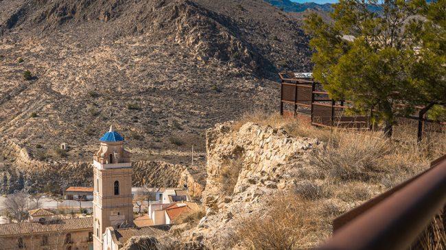 Vega Árabe y Castillo de Oria