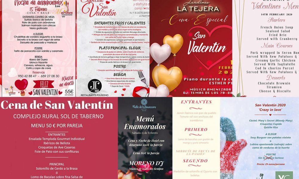 Disfruta de San Valentin en el Valle del Almanzora