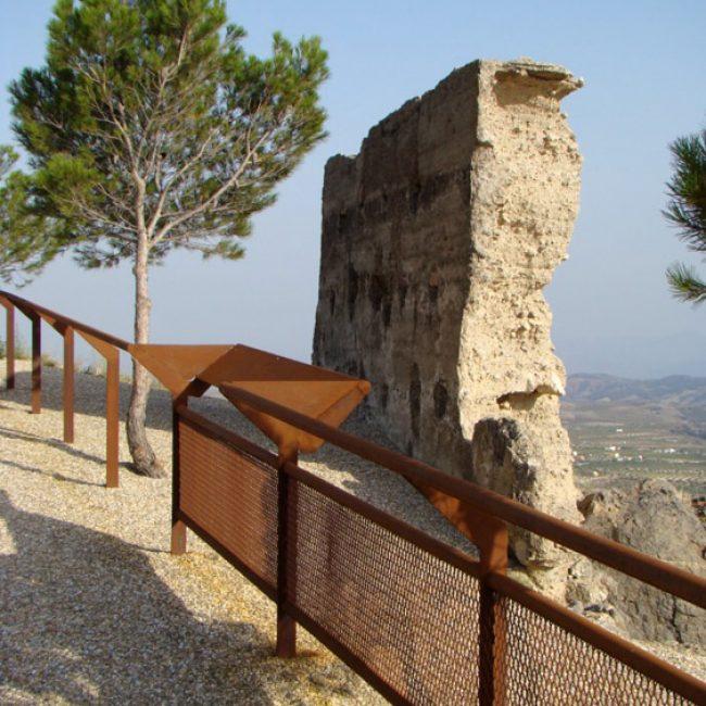 Mirador del Castillo de Oria