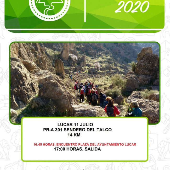 Senderismo Lucar – PR-A 301 Sendero del Talco
