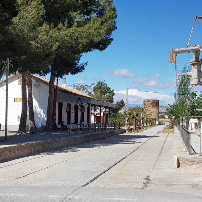 Old Train Station of Tíjola