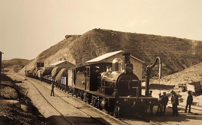Foto tren de Zurgena